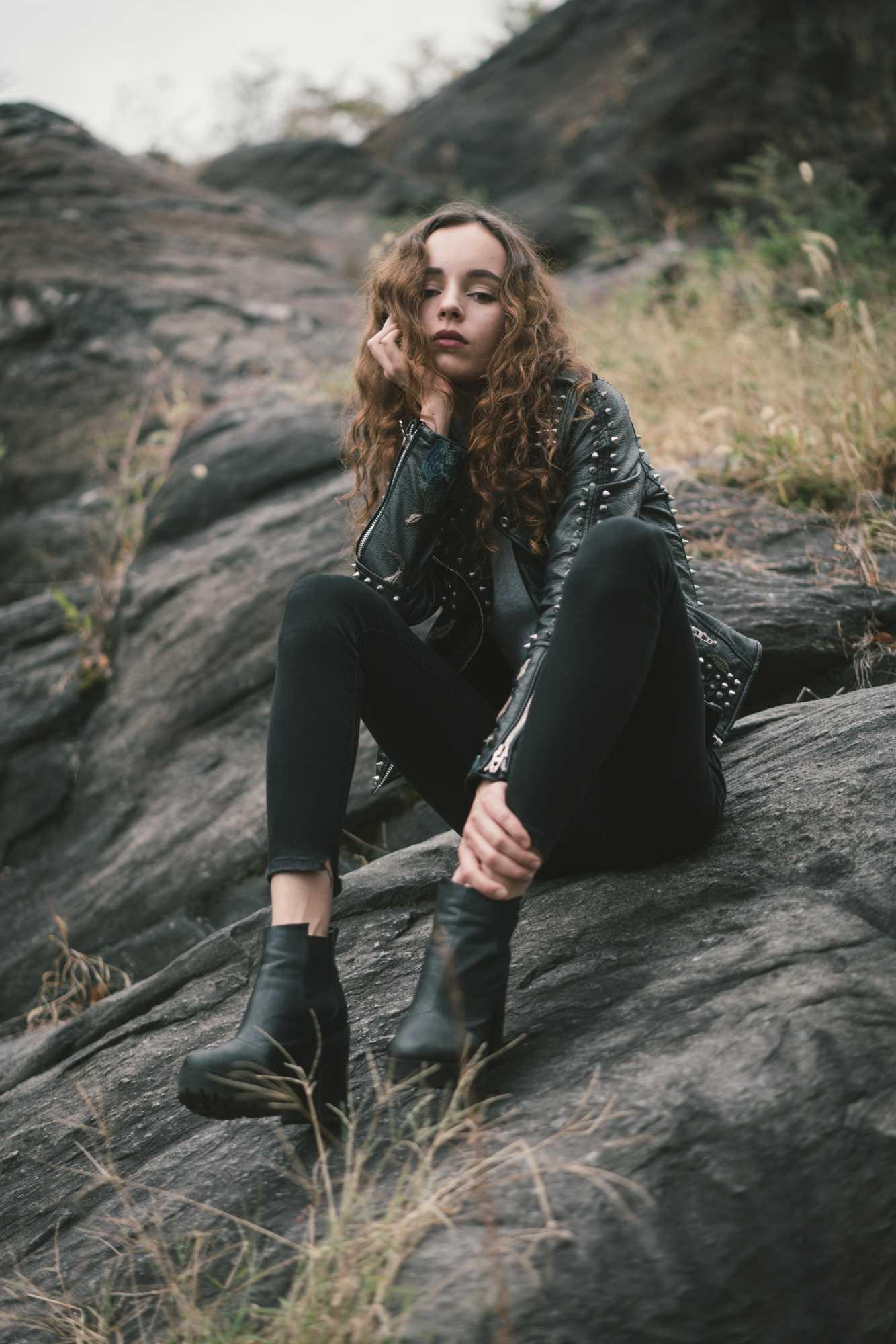 Model Natasha Klishina shot by photographer Zeno Gill